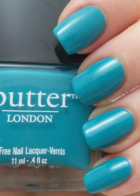 Butter London Slapper and Teal Comparison - Adventures In Acetone