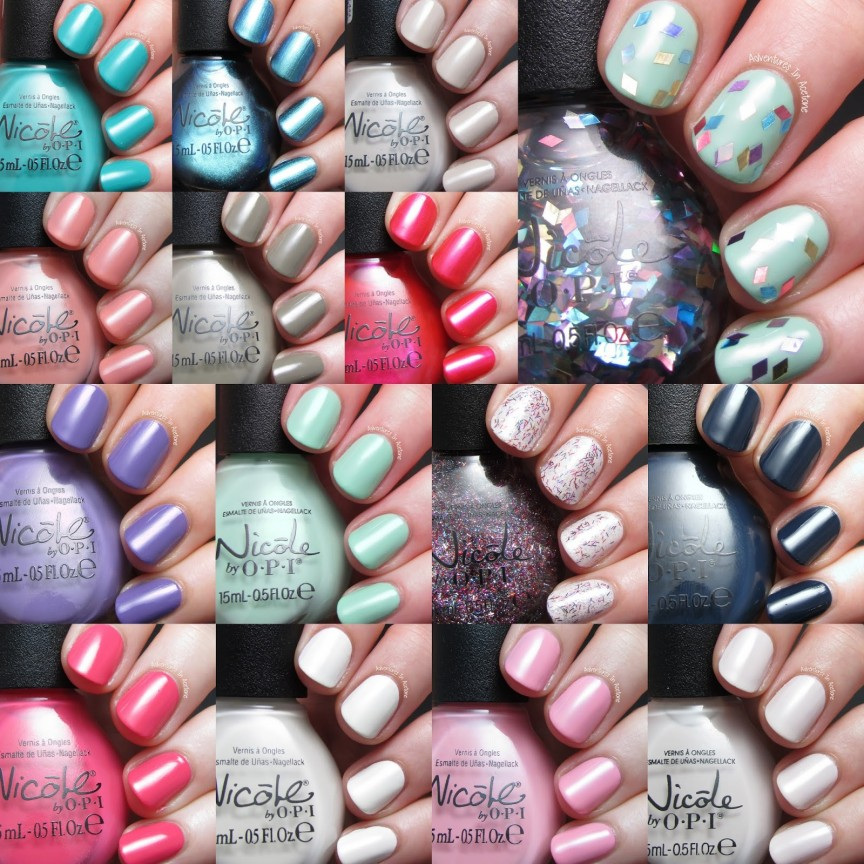 New Nicole by OPI 2014 Swatches! - Adventures In Acetone