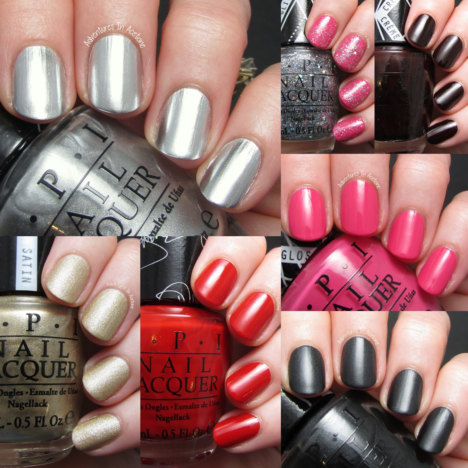 Swatch Saturday: Gwen Stefani by OPI Collection! - Adventures In Acetone