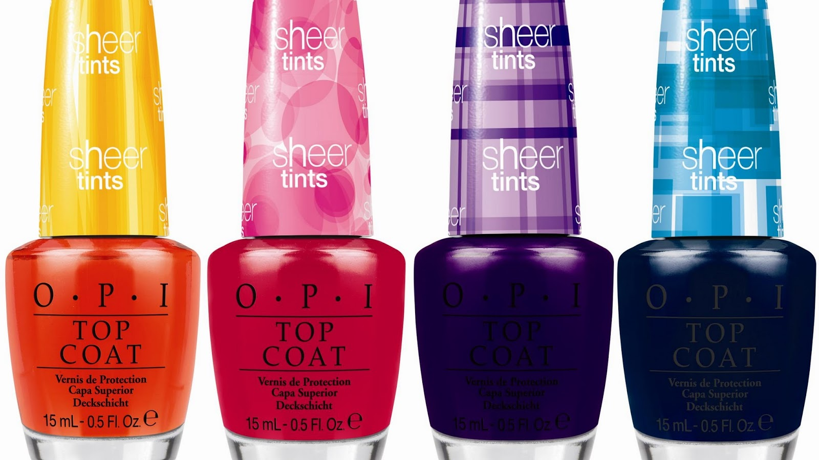 Press Release Opi Sheer Tint Top Coats Adventures In Acetone