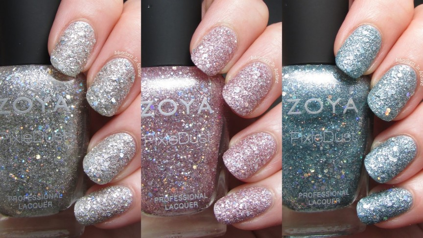 Zoya Magical Pixiedust Swatches