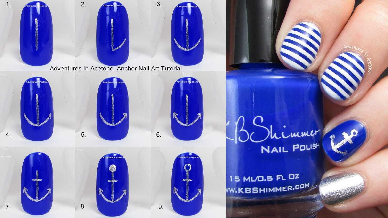 Tutorial Tuesday Anchor Nail