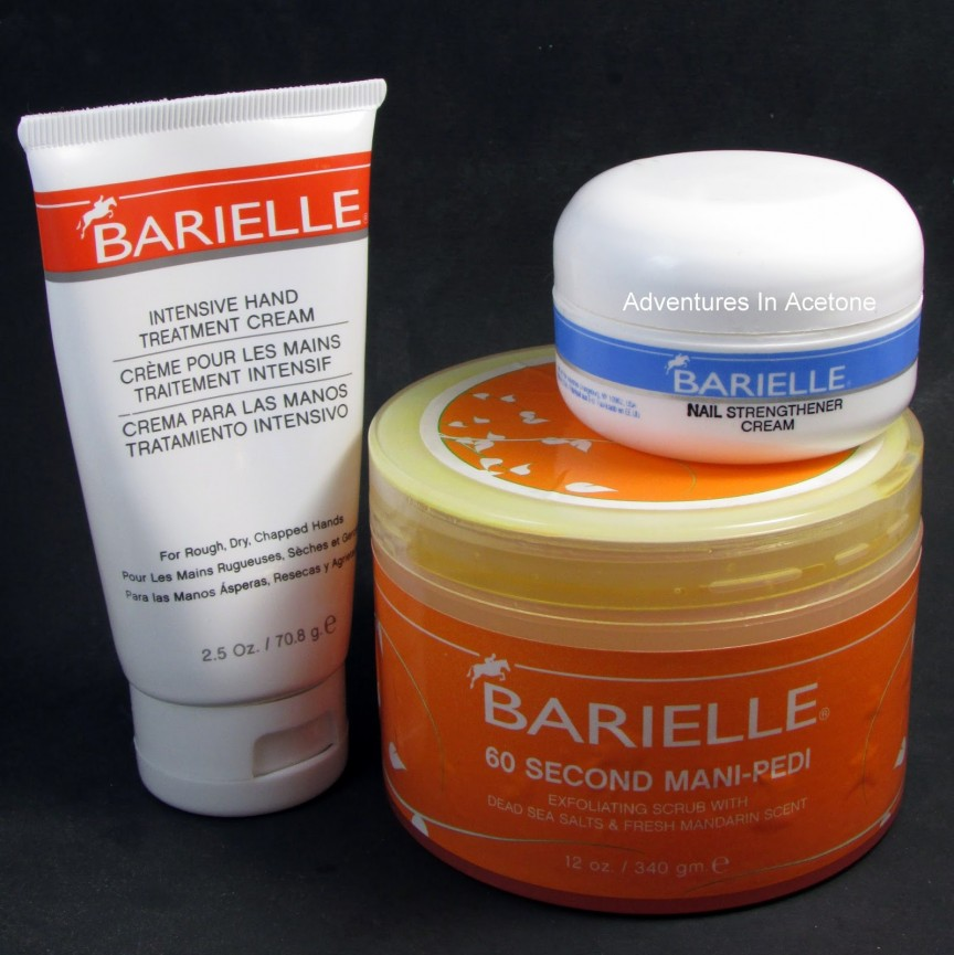 Barielle Hand/Nail Care Product Review! - Adventures In Acetone