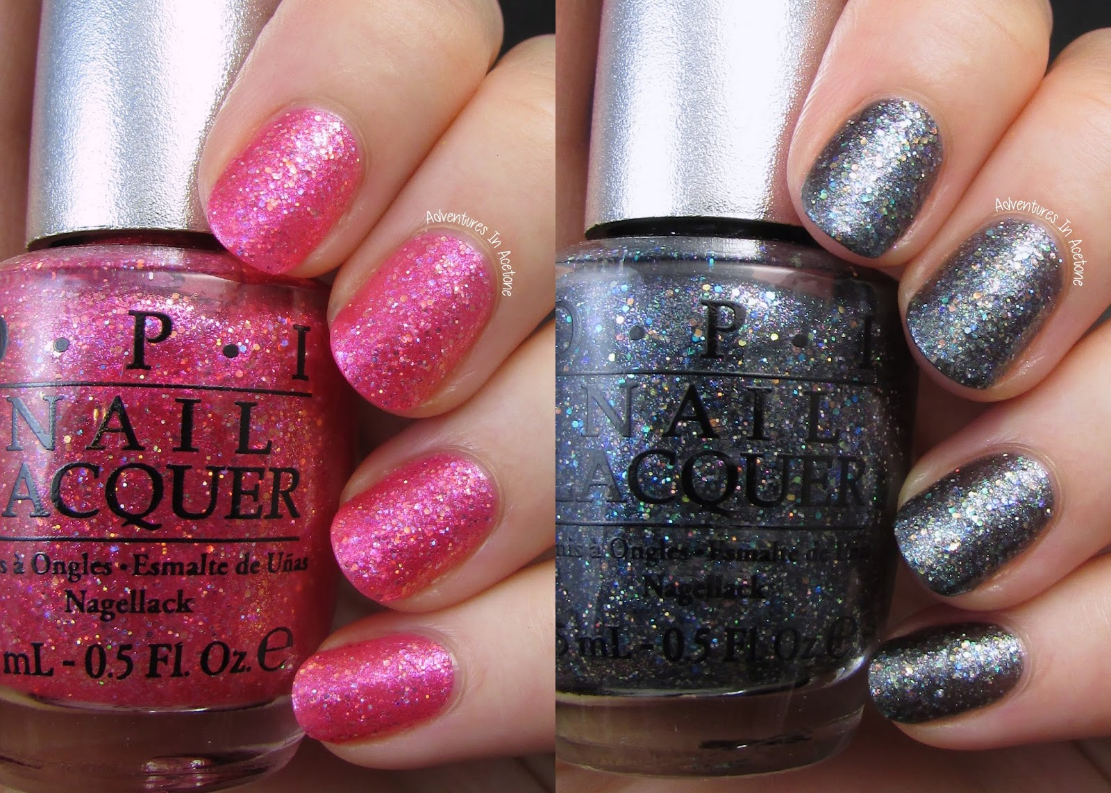 Swatch Satuday Opi Ds Tourmaline And Ds Titanium Adventures In