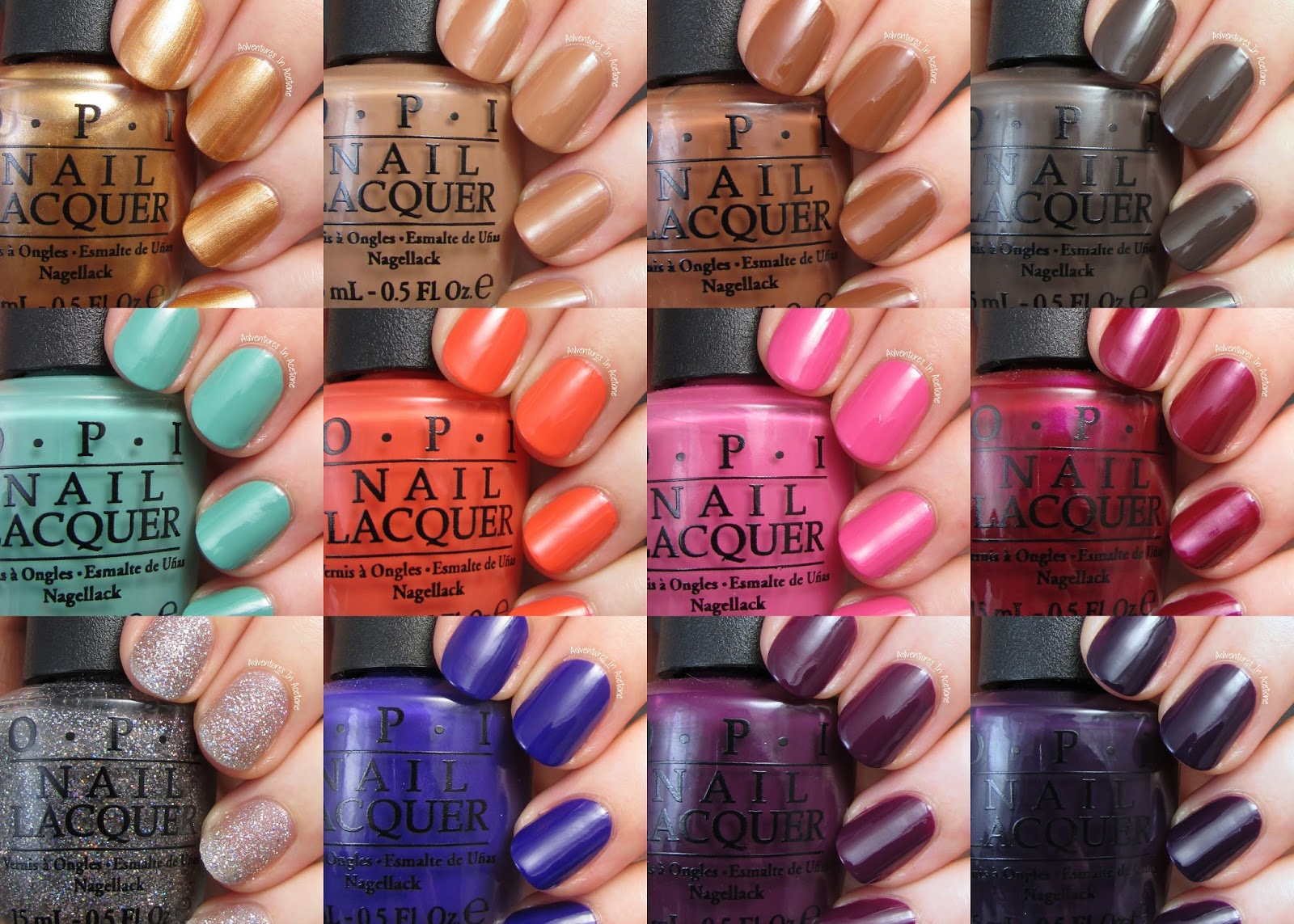 Swatch Saturday Opi Nordic Collection Adventures In
