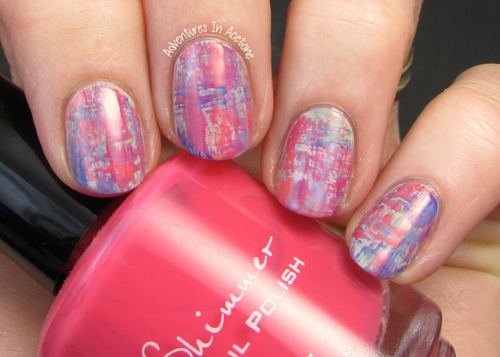 Dry Brush Nail Art With Kbshimmer Adventures In Acetone
