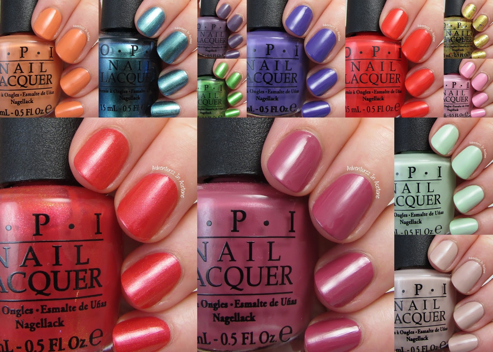 Hawaii Collection By Opi Brings The Fresh Bright Colors Of Its Namesake Islands To Nails And Toes For Spring Summer 2017 This New Features A