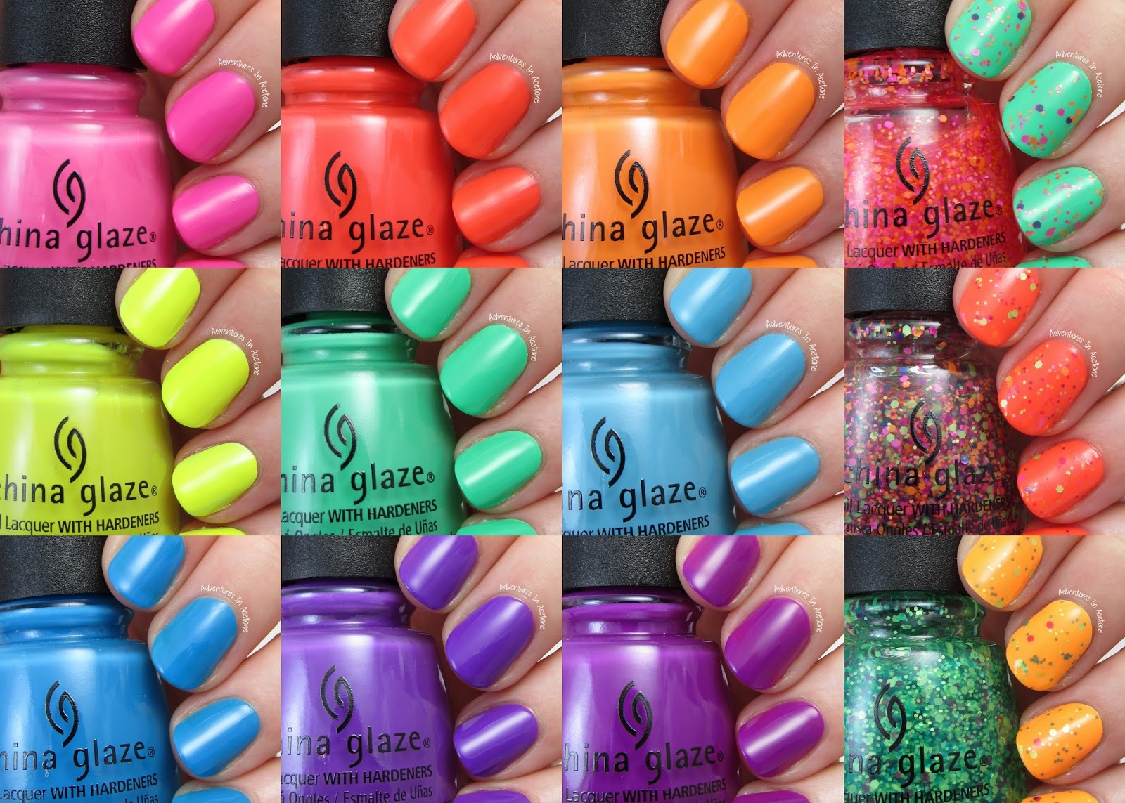 Swatch Saturday: China Glaze Electric Nights Collection ...