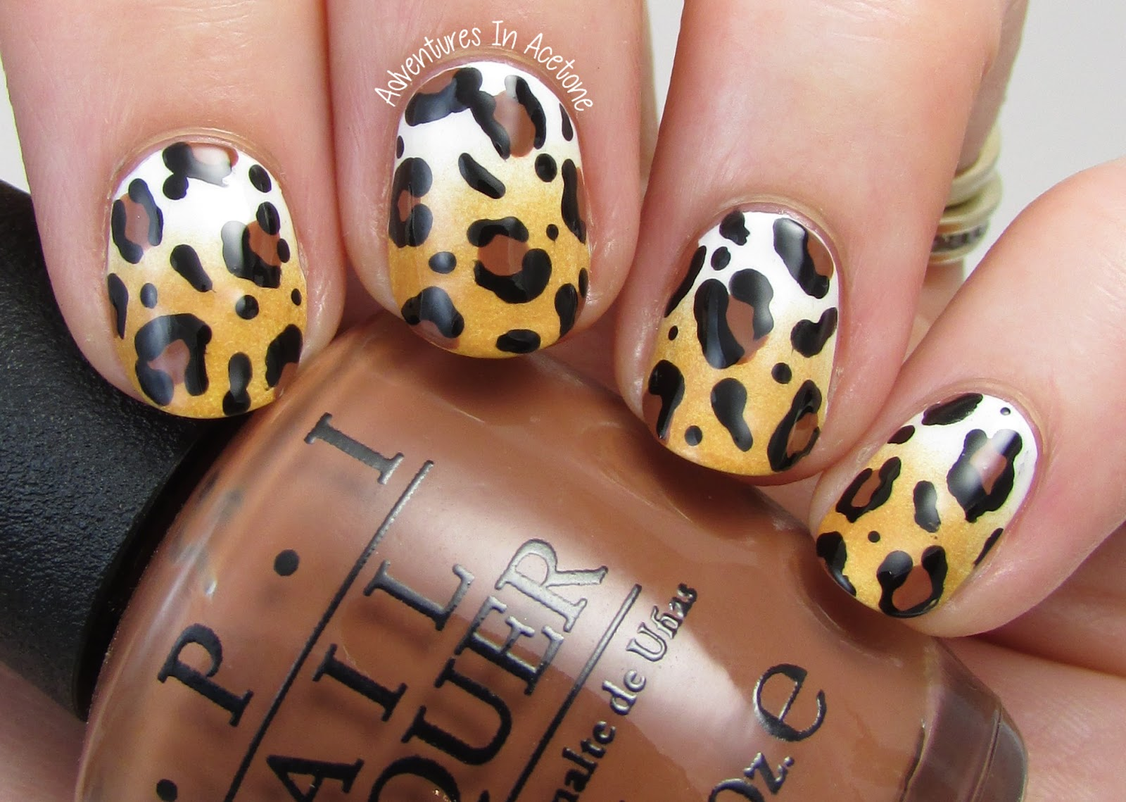 The Digit-al Dozen DOES Nature, Day 2: Leopard Nail Art ...