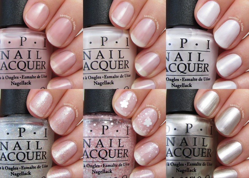 Swatch Sunday: OPI SoftShades Collection 2015 - Adventures In Acetone