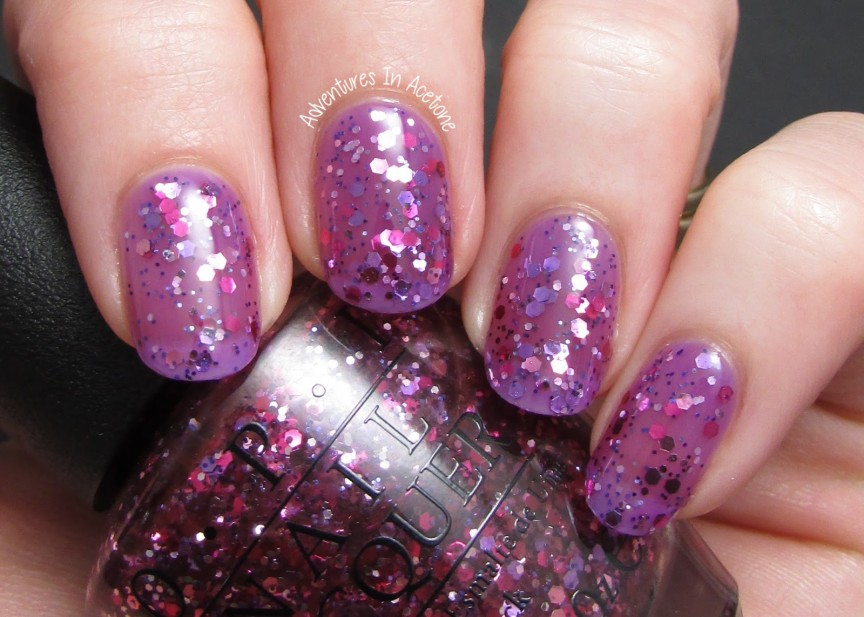 OPI Sheer Tint Jelly Sandwich! - Adventures In Acetone