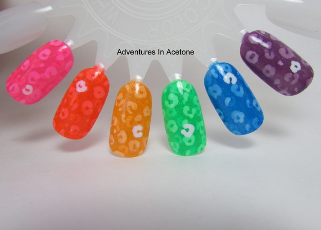 The Nail Junkie Neon Shimmer Jellies 1