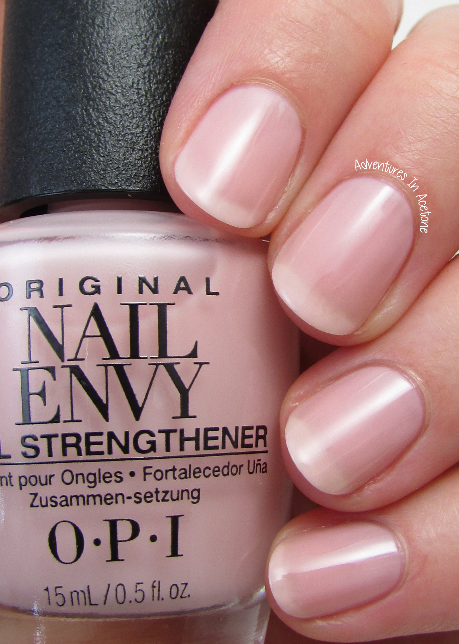 Swatch Saturday Opi Nail Envy Strength In Color Collection Adventures In Acetone