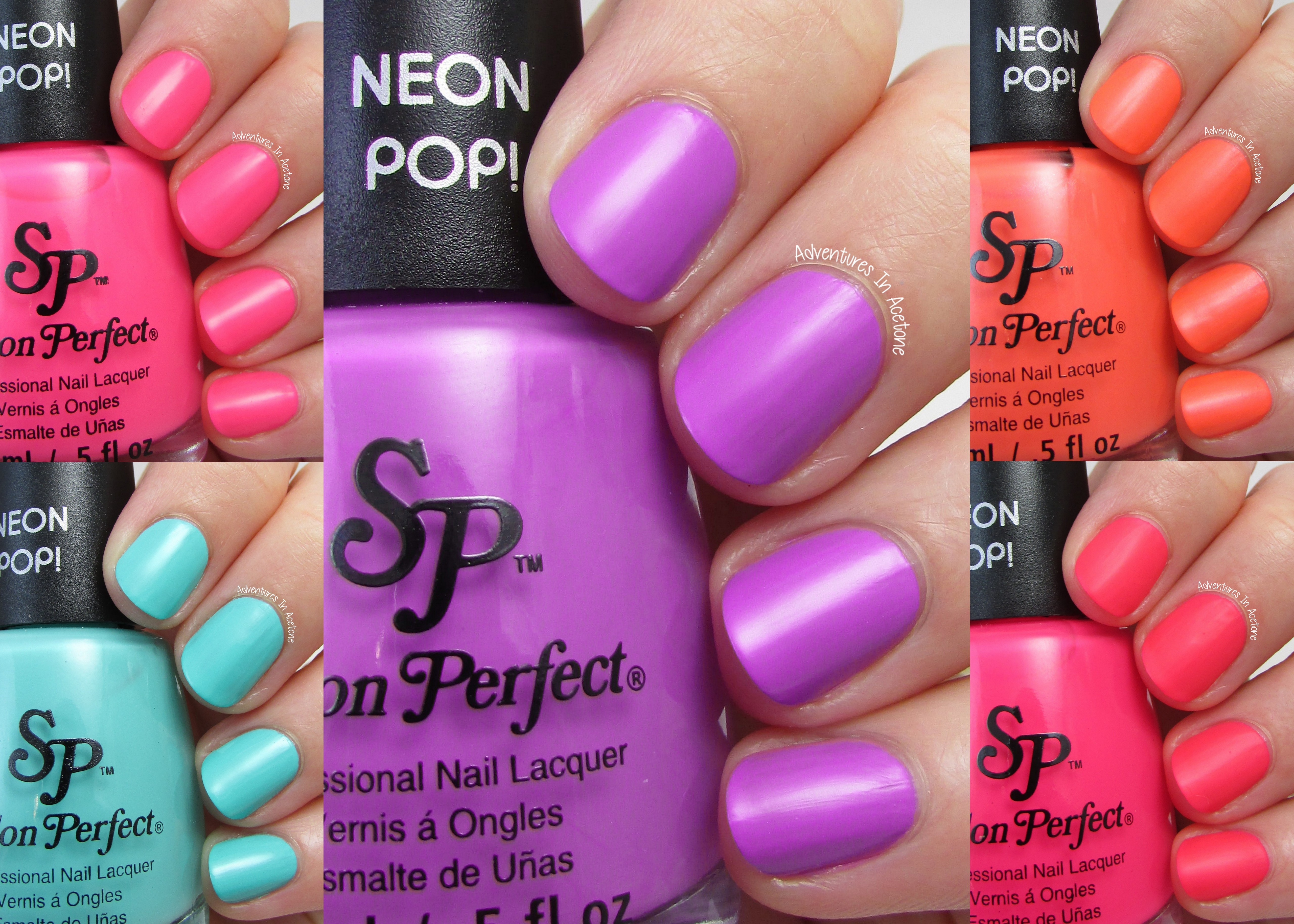 Swatch Saturday: Salon Perfect Neon POP! Collection - Adventures In ...