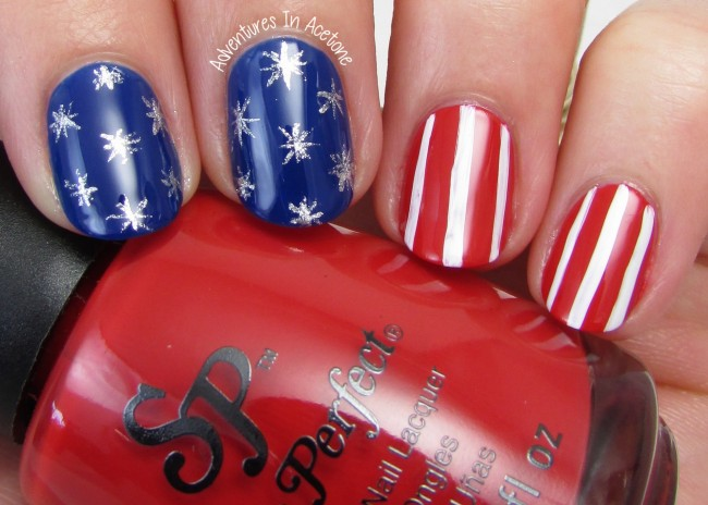Stars and Stripes Nail Art with Salon Perfect 1