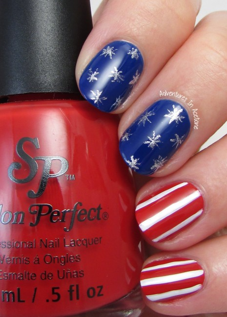 Stars and Stripes Nail Art with Salon Perfect 2