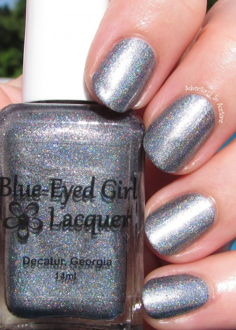 Blue-Eyed Girl Lacquer Heat Lightning sunlight 1