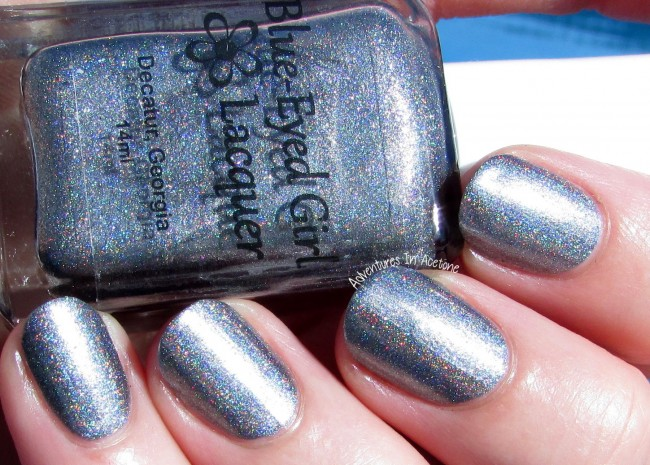 Blue-Eyed Girl Lacquer Heat Lightning sunlight 2