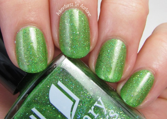 Literary Lacquers Can't Work By Lime Light 1