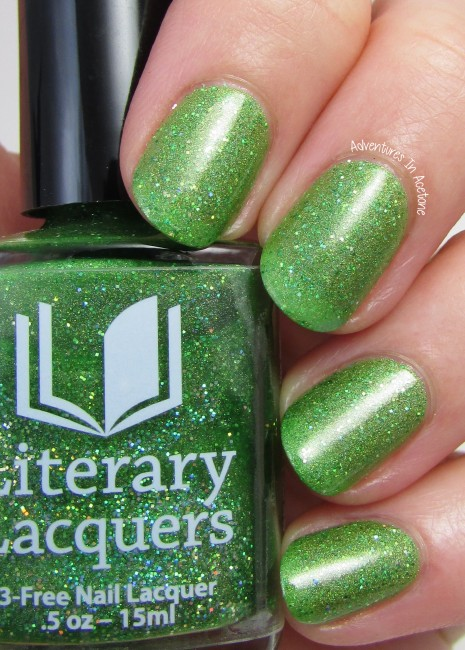 Literary Lacquers Can't Work By Lime Light 2