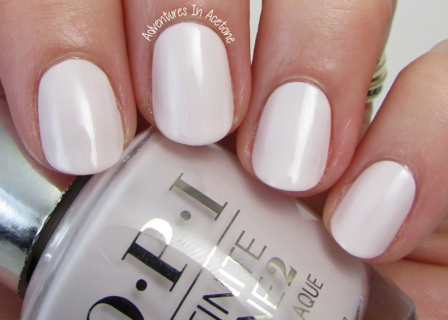 OPI Infinite Shine Beyond the Pale Pink 1