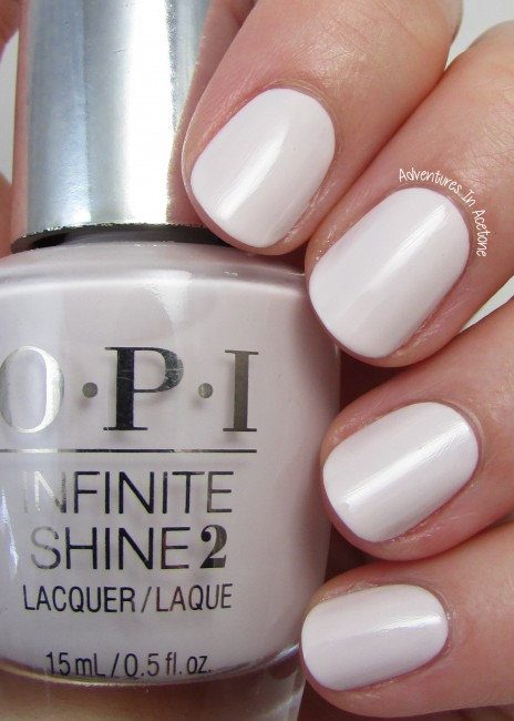 OPI Infinite Shine Beyond the Pale Pink 2