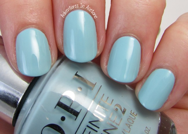 OPI Infinite Shine Eternally Turquoise 1