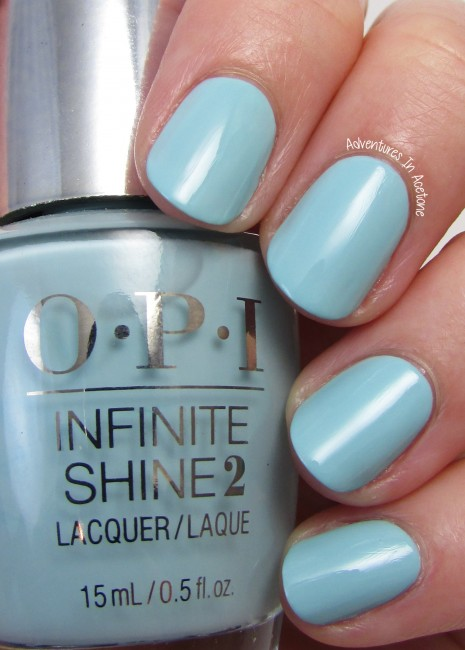 OPI Infinite Shine Eternally Turquoise 2