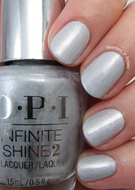OPI Infinite Shine Go to Grayt Lengths 2