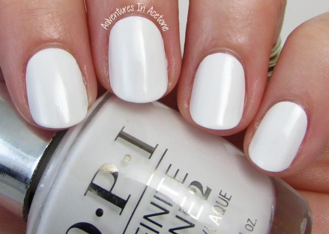OPI Infinite Shine Non-Stop White 1