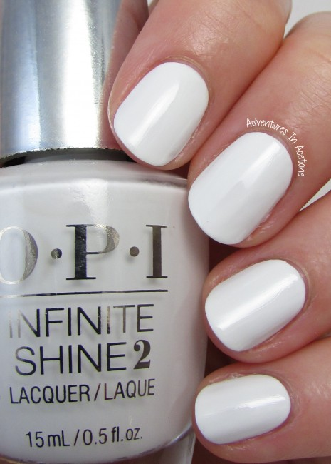 OPI Infinite Shine Non-Stop White 2
