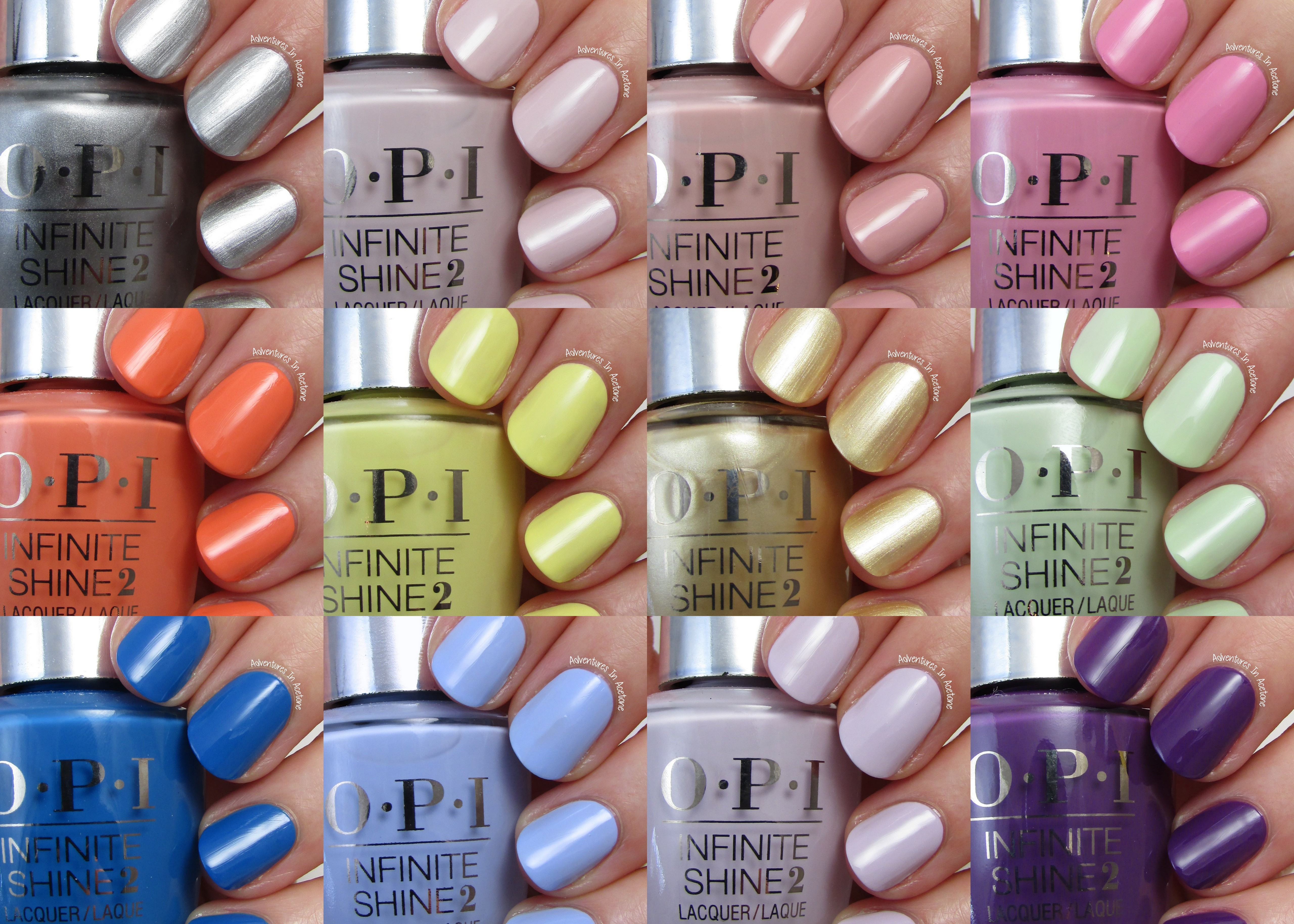 Swatch Sunday: OPI Infinite Shine Summer 2015 Collection ...