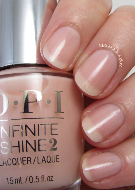 OPI Infinite Shine The Beige of Reason 2