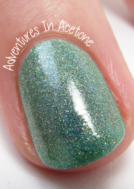 Sweet Heart Polish Hot August Nights macro