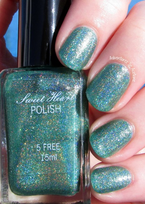 Sweet Heart Polish Hot August Nights sunlight 1