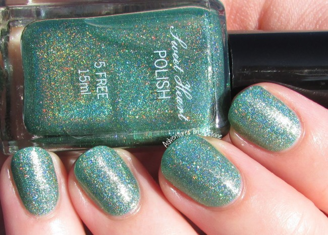 Sweet Heart Polish Hot August Nights sunlight 2