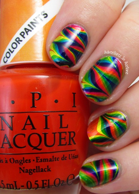 OPI Color Paints Water Marble 1