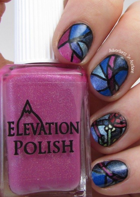 Stained Glass Nail Art 2