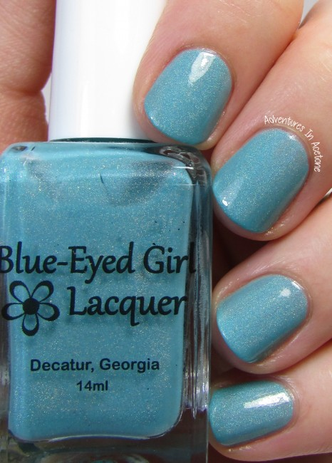 Blue-Eyed Girl Lacquer Sepulcher by the Sea 1 holo