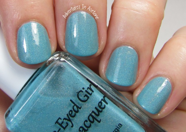 Blue-Eyed Girl Lacquer Sepulcher by the Sea 2 holo