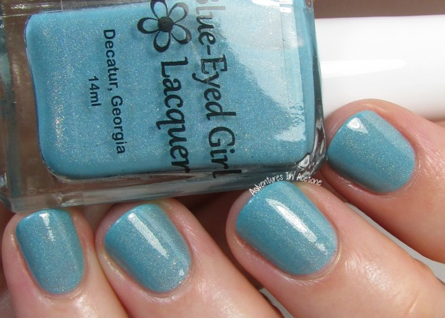 Blue-Eyed Girl Lacquer Sepulcher by the Sea 3 holo
