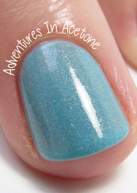 Blue-Eyed Girl Lacquer Sepulcher by the Sea macro indoors
