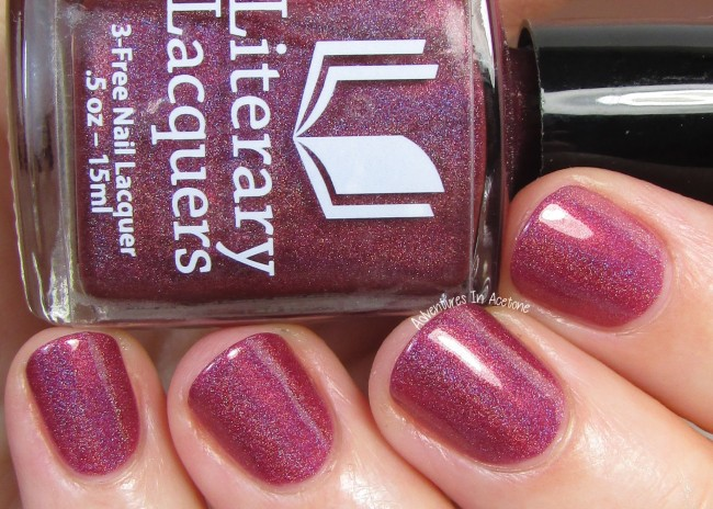 Literary Lacquers Phoenix in Her Blood 3 holo