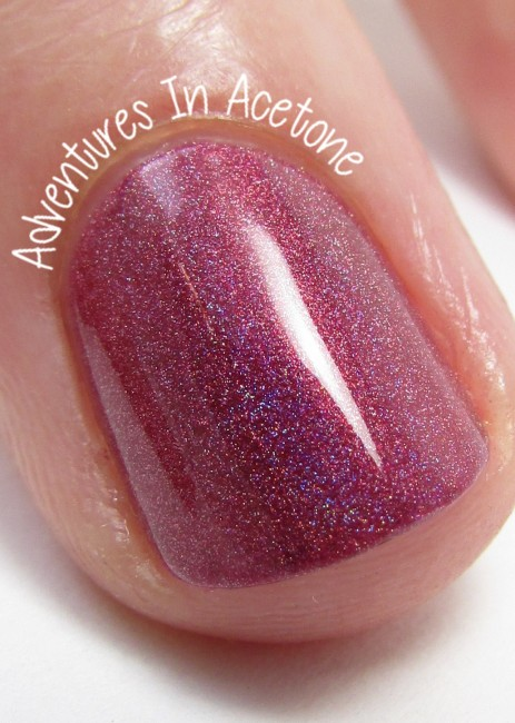 Literary Lacquers Phoenix in Her Blood macro indoors