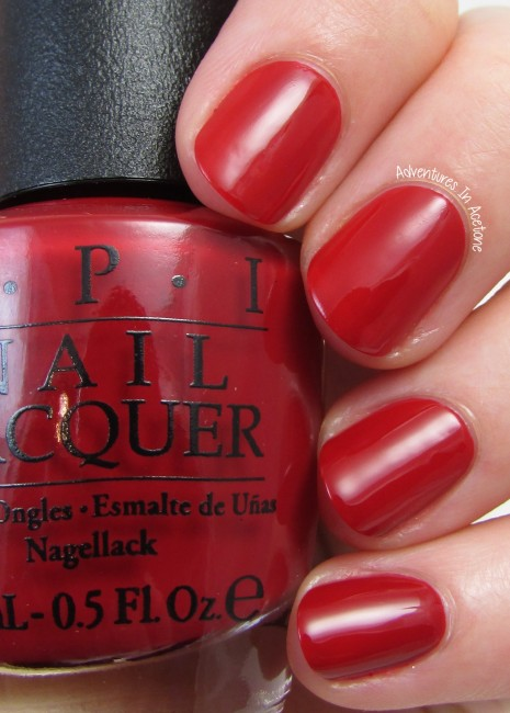 OPI Amore at the Grand Canal 1