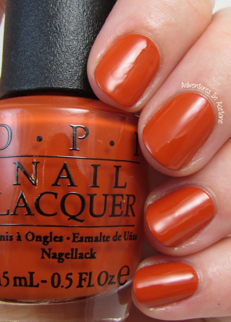OPI It's A Piazza Cake 1