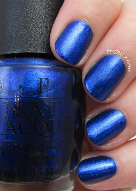 OPI St. Mark's the Spot 1