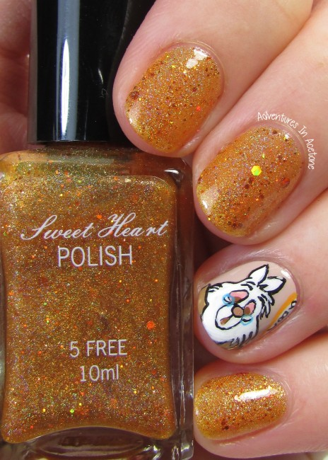 Sweet Heart Polish I'm Late! I'm Late! I'm Late! 2