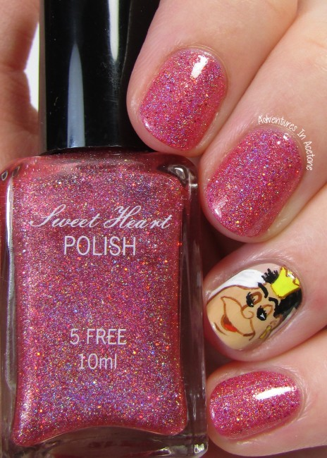 Sweet Heart Polish Off With Her Head! 1