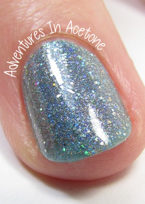 Sweet Heart Polish She Must Be A Weed macro